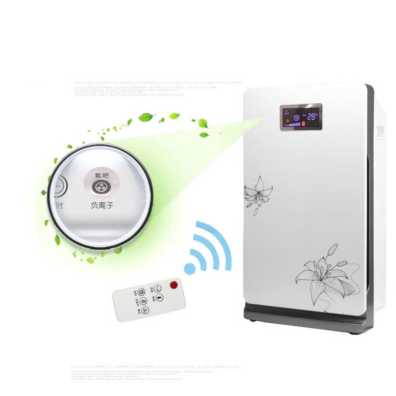 Ionizer Air Purifier For Home Negative Ion Remove Formaldehyde Smoke Dust Purification ionizer air purifier for home negative ion generator 12 million air cleaner 220v remove formaldehyde smoke dust purification