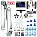 Car Auto Universal 3 pçs/set Interruptores e Arnês + 2-portas Elétrica Kits de Janela de Poder # CA3437