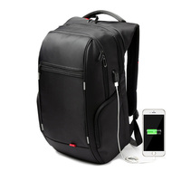 Black Laptop Backpack 15.6 Inch Waterproof For Men Women Anti theft Notebook Backpacks Bag External Usb Port Computer Gym Bags