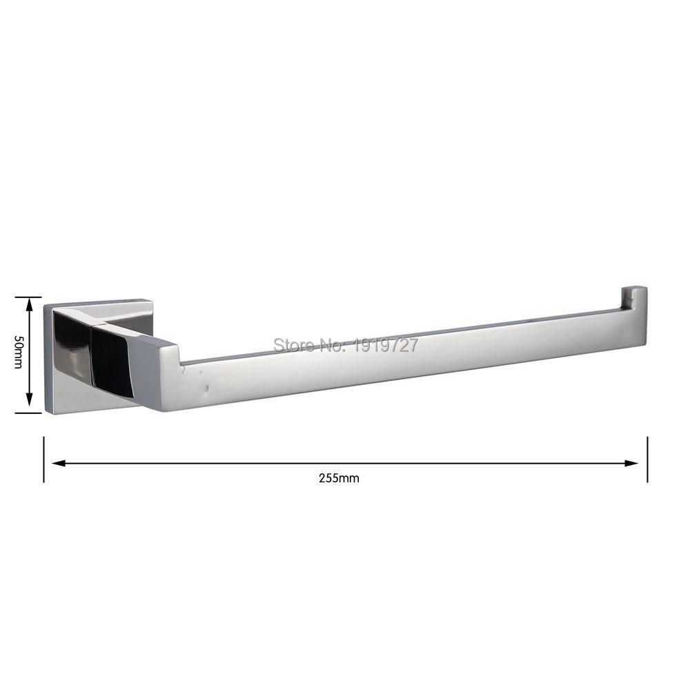 Bagnolux Stainless Steel 304 Bathroom Accessories Set Single Towel ...