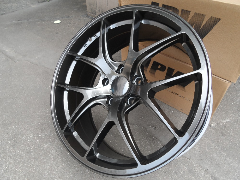 """Auto Parts Coupons >> 4 New 20"""" Gunmetal Metalic Wheel Rims wheels for BMW W005-in Wheels from Automobiles ..."""