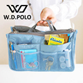 W.D POLO House Series Women nylon lady  cosmetic handbags Good quality can be fold easy matching storage bag washroom bags M2264