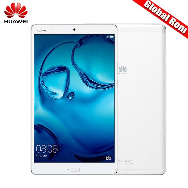 Глобальный Встроенная память 8.4 дюймов Huawei MediaPad m3 4 ГБ 32 ГБ/64 ГБ/128 ГБ WIFI/LTE 2 К Экран 2650*1600 Android 6.0 Планшеты KIRIN 950 Octa core Q