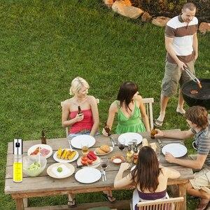 Image 5 - 2PCS Stainless Steel Glass Olive Oil Sprayer Kitchen Oil Spray Bottle Vinegar Bottle Oil Dispenser for Cooking Salad BBQ Tool