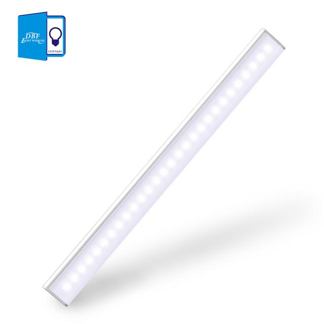 [DBF] 27 led Recargable Lámpara PIR Sensor de Movimiento LED Luz de La Noche Con Para Pasillo Escaleras Vía Banda Magnética Iluminación de la pared