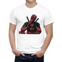 2016 Arrive American Comic Badass Deadpool T Shirt Tees Men/women Cartoon Anime 3D T Shirt Casual tee Shirts Tops Quality B125