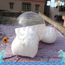 Hot Selling Transparent PVC Advertising Inflatable Bubble Tent Free Sea Shipping