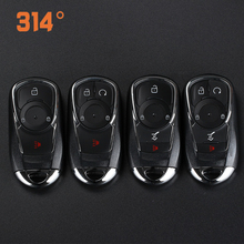 3 Buttons Car Remote Key Smart Card Shell One Button Start Replacement Suit For Buick New Gl8 Angkor Verano