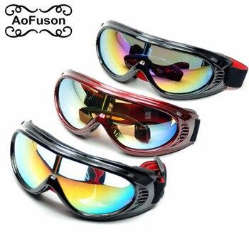 31807ea1bd Los niños de esquí Snowboard gafas nieve gafas moto de nieve niños niñas  Motocross fotosensibles UV400 Skibril gafas de esquí esqui