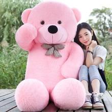 5 WARNA Giat 160CM 180CM 200CM 220CM besar teddy bear lembut mainan mewah besar boneka kanak-kanak saiz kehidupan anak patung gadis Natal g