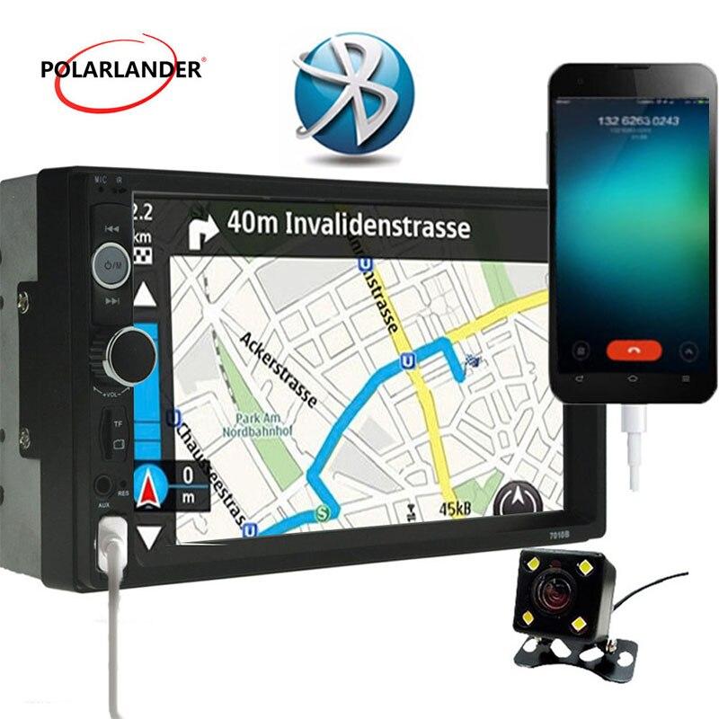 7 ''USB/TF/FM unité de tête d'écran tactile Radio voiture stéréo MP5 lecteur télécommande Bluetooth 2Din lien de miroir pour android