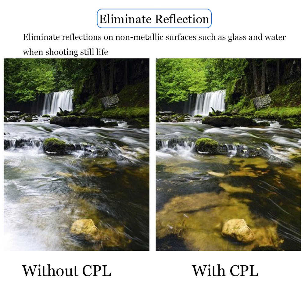 Zomei CPL カメラフィルター円偏光一眼レフカメラレンズため CIR-PL 37/40 。 5/49/52/55/58/62/67/72/77/82 ミリメートル