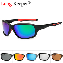 Long Keeper Polarized Men Sunglasses Fashion Gradient Male Driving Glass UV400