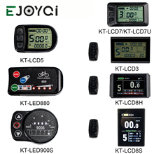 EJOYQI KT kunteng Màn Hình Ebike Bộ 24 V 36 V 48 V 72 V Bảng Điều Khiển thông minh LCD5 3 5 7 8 H 8 S led880 led900s Phần KT