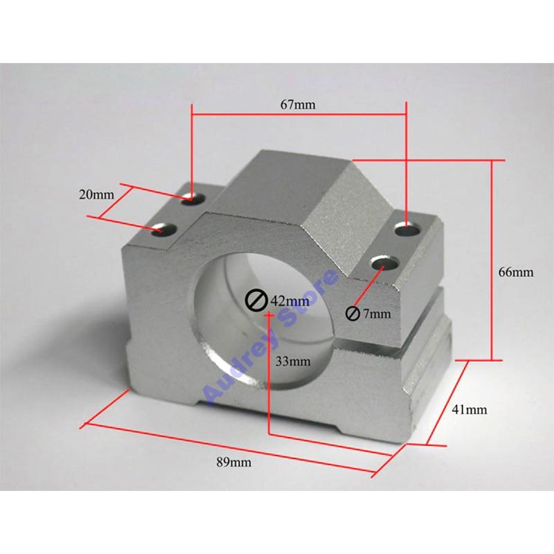 250W high speed brushless motor spindle Bracket mini engraving machine spindle