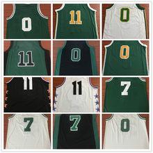 d34a69bbf25 Dropshipping Men Jayson Tatum Kyrie Irving Jaylen Brown Basketball Jersey  MAN Basket Uniforms Stitched Trikots Shirts Wholesale