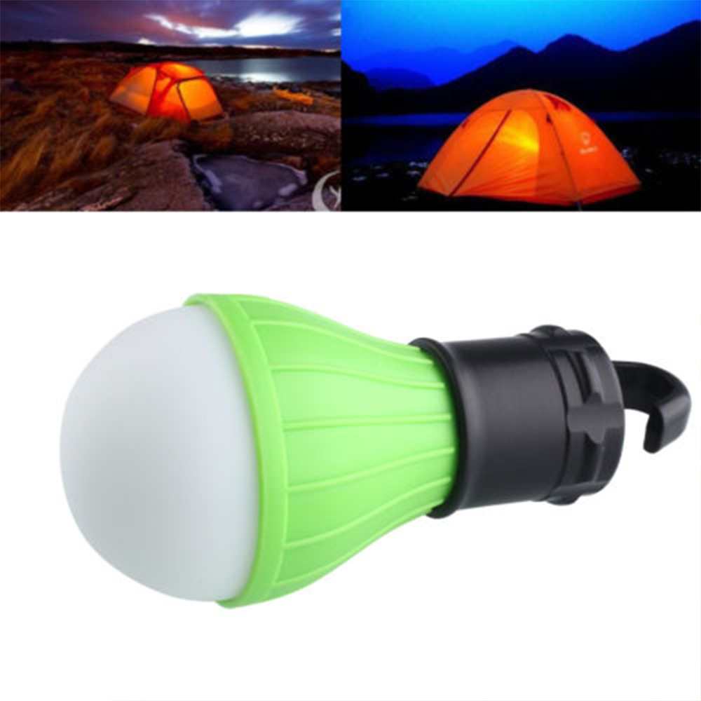 1pcs Outdoor Light Hanging Light Hiking Camping Tent Lanterns Bulb Fishing Luces Bulb Lamp White Light By Battery
