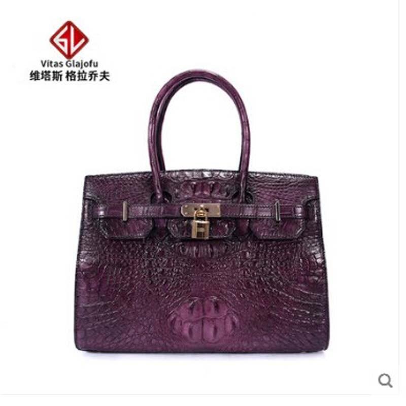 e2bd5f23ed27 Weitasi сумка из крокодиловой кожи, новое мастерство, женская сумка на одно  плечо