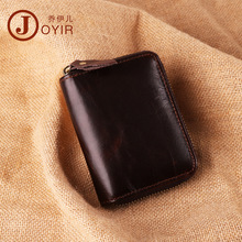 Slots card holders men leather card id holders Blocking Rfid Wallet Unisex Security Information Purse zero wallet card holder