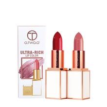 O.TWO.O Matte Lipstick Smooth Waterproof Moisturizer Long La