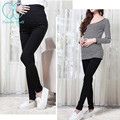 5605# Elastic Waist Skinny Maternity Legging 2017 Spring Autumn Pencil Belly Pants Clothes For Pregnant Women Pregnancy Clothing