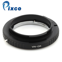 Pixco MD-MA, Macro lens Adapter Ring suit for Minolta MD MC Lens to Suit for Sony Alpha for Minolta MA Mount camera No Glass
