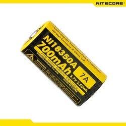 Nitecore NI18350A IMR 18350 IMR18350 700 mAh 7A bateria do urządzenia o wysokim poborze prądu
