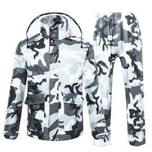 Camouflage Pvc Raincoat Women Men Motorcycle poncho raincoat feminino waterproof coat Lluvia Chuva Rain Coats Rainwear 50KO171