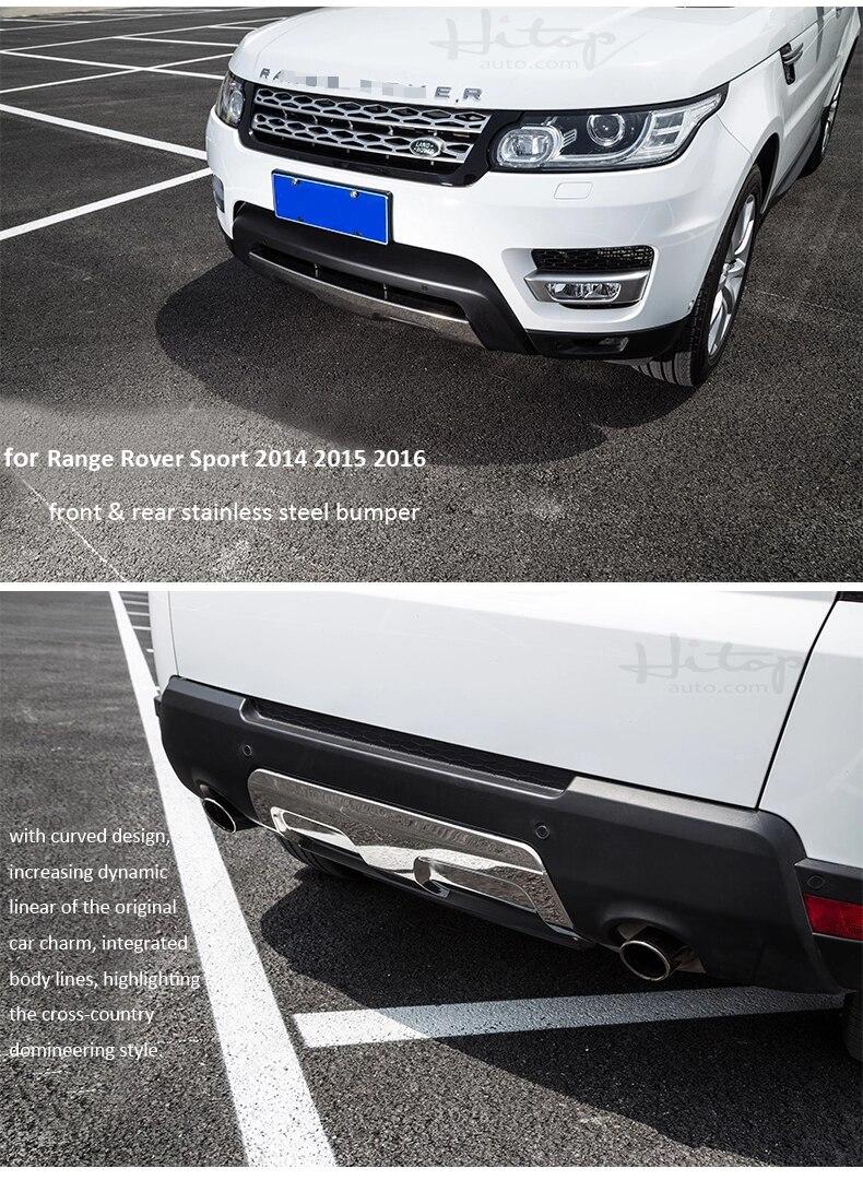 vordere u. hintere Stoßschwellenabdeckung / Gleitplatte für Range - Autoteile - Foto 5