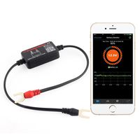 Automotive BM2 Wireless Car Battery Tester 12V Battery Load Tester Bluetooth 4.0 Battery Voltage, Charging and Cranking System