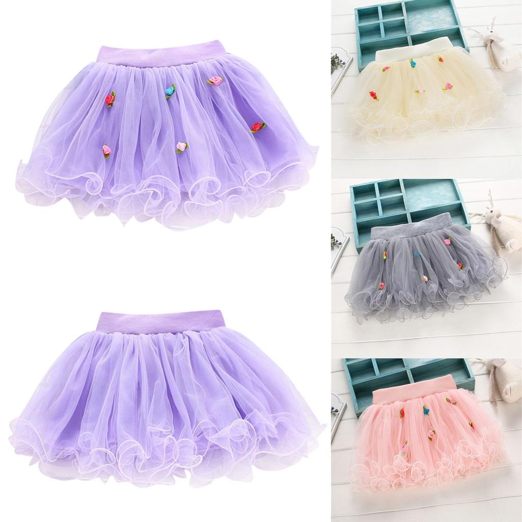 Womail Solid Color 2019 Women Girls Big Swing Tulle Pleated Long Maxi Tutu Skirt High Waist Net Bohemian Skirt 19mar28 Skirts Women's Clothing