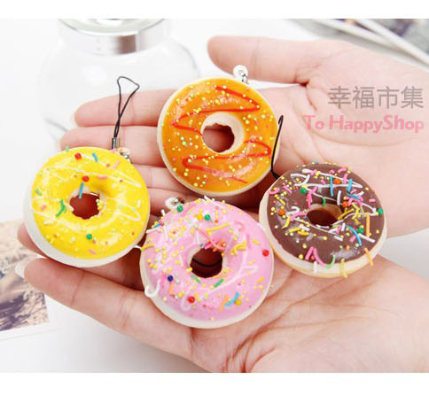 Squishy Donuts Kawaii : Aliexpress.com : Buy Squishies wholesale 50pcs kawaii buns donut squishy for mobile Phone strap ...