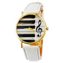 MJARTORIA Piano Musical Notation Watches Women Quartz watch Female Ladies Leather Bracelet Watch Women Wristwatches Clock 54