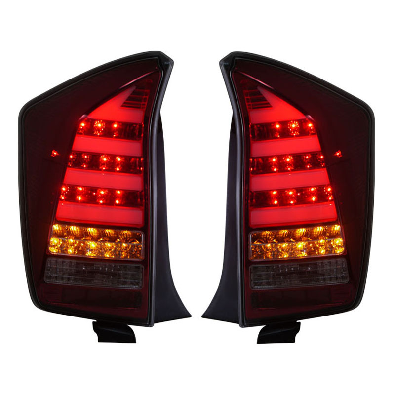 for Toyota Prius LED car <font><b>Tail</b></font> lights Assembly V1 style 2009-up with Moving Flashing turn light Car-styling Redesigned lamps
