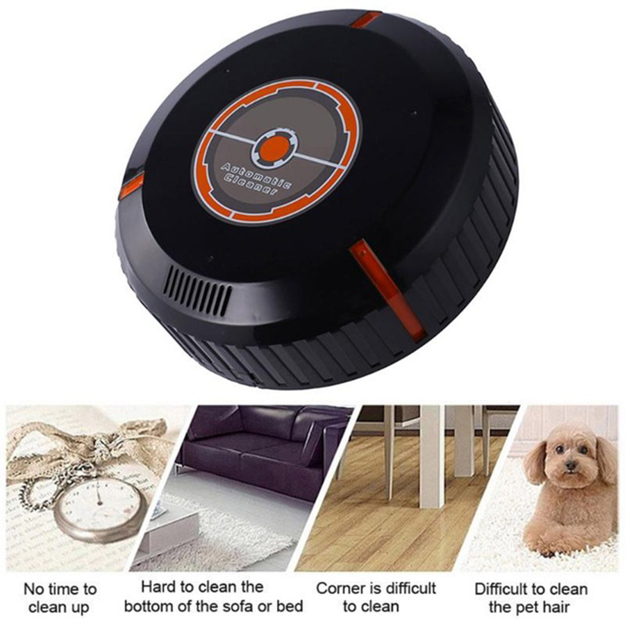 Robot Vacuum Cleaner for Home Automatic Sweeping Dust Sterilize Smart Planned Cleaning Robotic Household Cleaning Appliance cen546 110 220v mini robot vacuum cleaner for home automatic sweeping dust sterilize smart planned mobile app 0 3l dust box