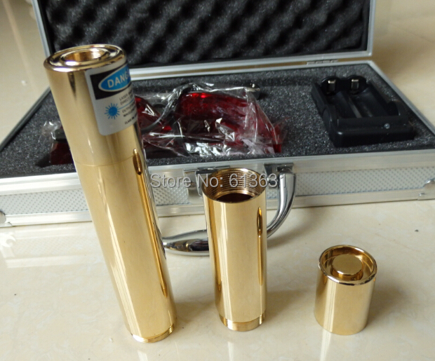 200000mw 5in1 Strong power military 450nm blue laser pointer burn match candle lit cigarette wicked lazer torch 200Watt