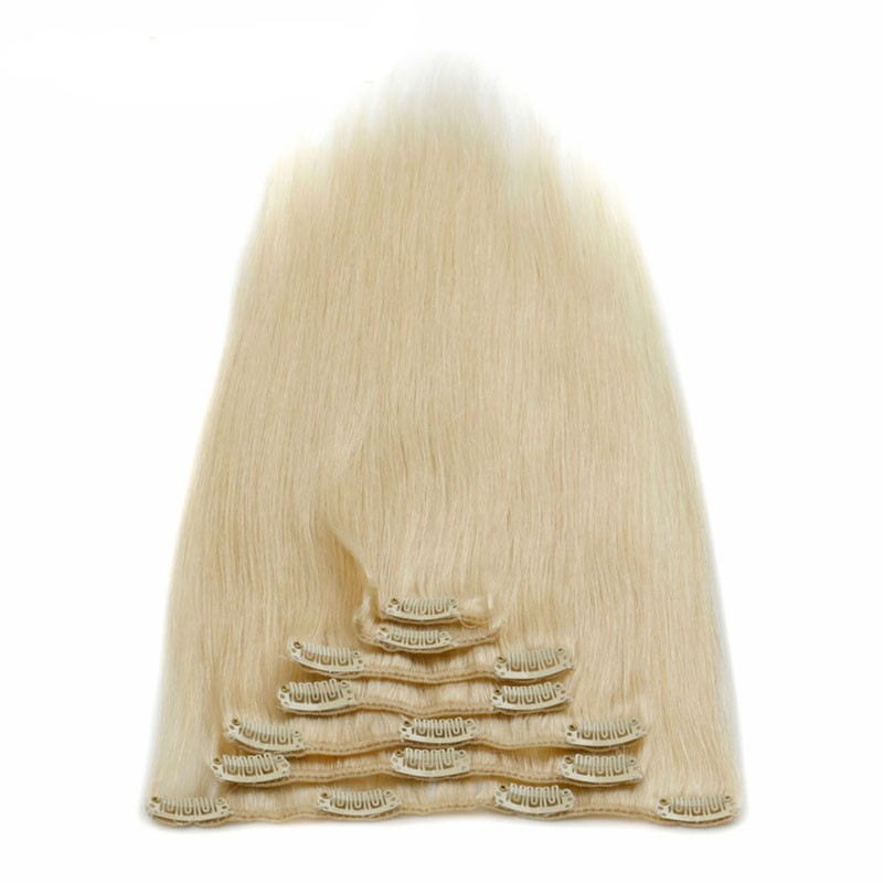 human-hair-clip-ins-100g-613-blonde-Brazilian-hair-clip-in-extensions-african-american-clip-in (1)