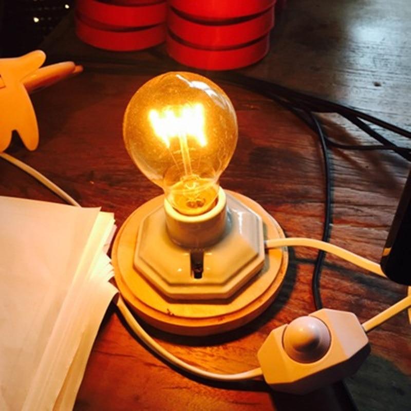Vintage Tischlampe Dimmbare Schreibtischlampe Für Schlafzimmer - Innenbeleuchtung - Foto 4