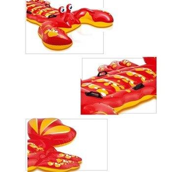 Piscine Avec Sièges | Géant Gonflable Homard Crabe Flotteur Piscine Siège Radeau Natation Cercle Air Matelas Eau Jouets Pour Enfant Adulte Enfants Plage Fête