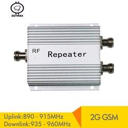 Wzmacniacz komórkowy ZQTMAX 2G głos rozmowy GSM 900mhz wzmacniacz sygnału komórkowego 60dB wzmocnienie regenerator sygnału telefonu komórkowego