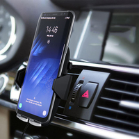 2019 Super Stable Universal Wireless charging Air Vent Car Phone Holder For iphoneX XR XS MAX For Samsung Note9 8 S9 S8 S7edge