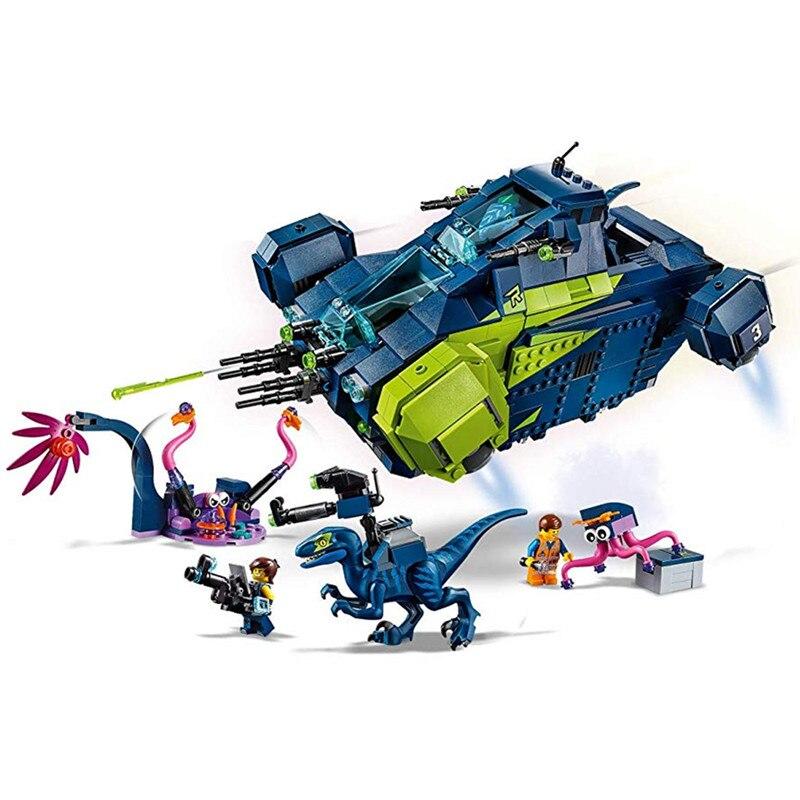 MOVIE 2 Rexs Rexplorer Building Blocks Kit Bricks Classic Movie Model Kids Toys Gift Compatible LegoingsMOVIE 2 Rexs Rexplorer Building Blocks Kit Bricks Classic Movie Model Kids Toys Gift Compatible Legoings