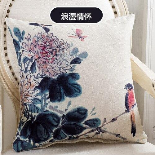 Новый 18 площадь 45x45 см Европа Стиль печати Чехлы домашний диван сиденье сзади Cushioncover автомобиля офис стул наволочка