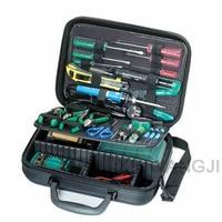 Pro'skit 1PK 710KB 1 электрик набор инструментов для обслуживания, включая Пинцет Электрический счетчик отвертка плоскогубцы Набор для ремонта (30 в