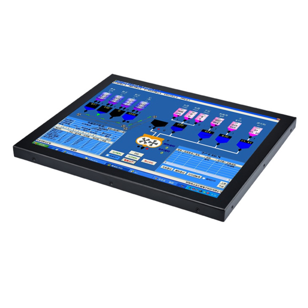 19 Inch Industrial Touch Screen All In One Comptuer Panel PC with COM LPT Partaker Z16 (2)