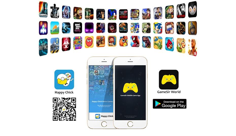 Gamesir T1s Mando Bluetooth Inalambrico De Juegos Para Android