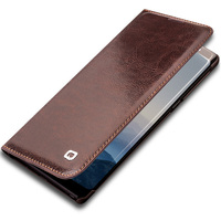 QIALINO Business Style Genuine Leather Case For Samsung Galaxy Note 8 Luxury Card Slot Cover Bag