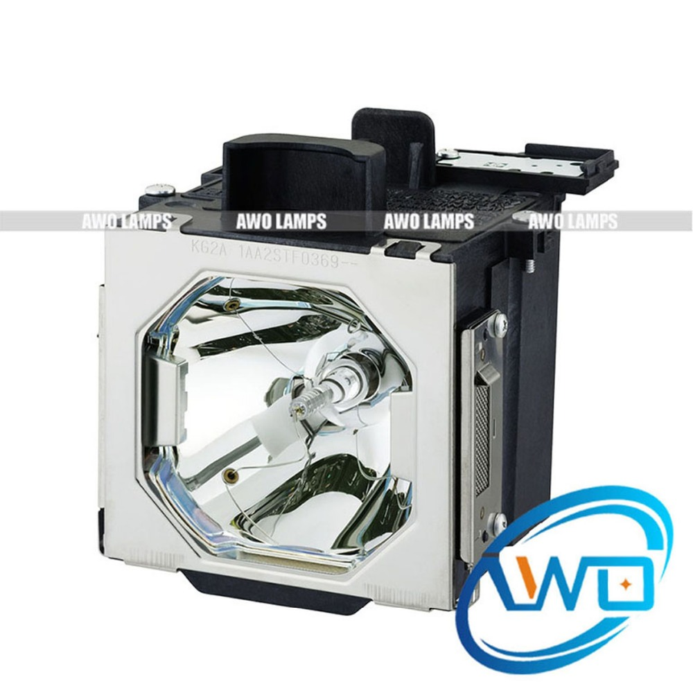 AWO POA-LMP146 Replacement Projector Lamp 610-351-5939 with Housing for SANYO PLC-HF10000L/EIKI EIP-HDT1000/LC-HDT1000 replacement projector lamp with housing poa lmp122 610 340 0341 for sanyo lc xb21b plc xw57 plc xu49 projector 3pcs lot