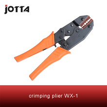 WX-1 crimping tool crimping plier 2 multi tool tools hands Ratchet Crimping Plier (European Style) stud crimping tool for metal profile matrix 87951