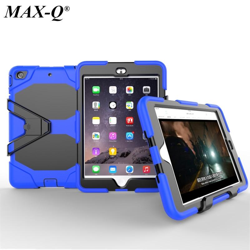 MAX-Q Extreme Heavy Duty Shockproof Case With Stand For Apple iPad Mini 1 iPad Mini3 With Retina iPad mini 2 cover
